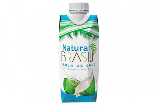 AGUA DE COCO INTEGRAL NATURAL BRASIL 330ML