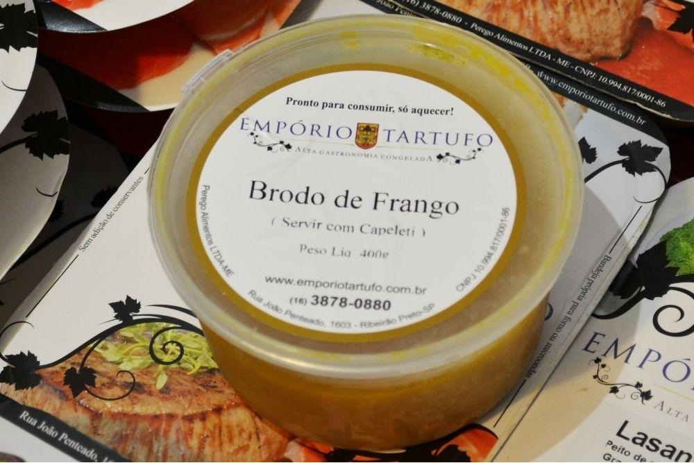BRODO DE FRANGO (SEM CAPELETTI) 400G