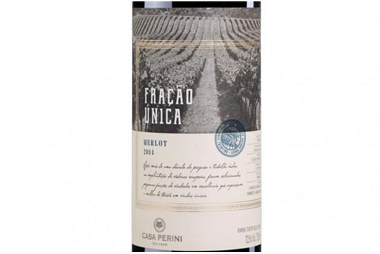 VINHO MERLOT FRACAO UNICA 750ML CASA PERINI
