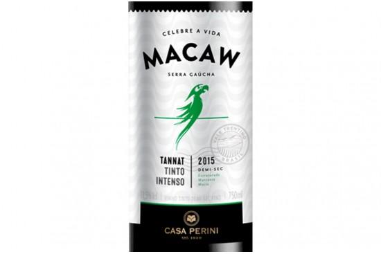 VINHO MACAW TANNAT 750ML CASA PERINI