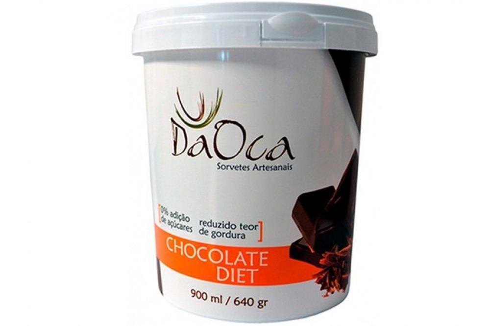 SORVETE CHOCOLATE DIET 900ML DA OCA
