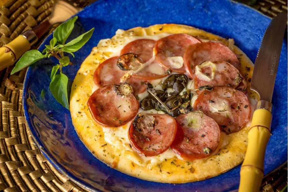 PIZZA CALABRESA SEM GLÚTEN 180G IRANI MAGGIORE