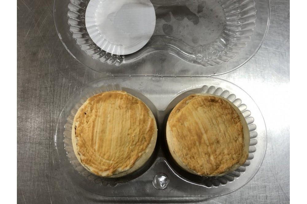 TORTA DE MAÇÃ 100G COM 2UN SANTA JULIA.