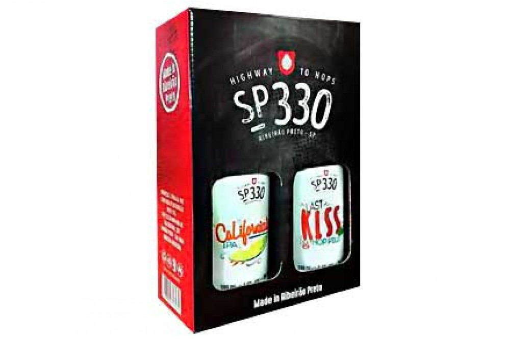 KIT COM 2 CERVEJAS SP330 500ML